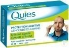 Quies Protection Auditive Silicone Souple Avec Cordelette 1 Paire