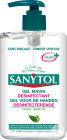 Sanytol Gel Désinfectant Mains Flacon 250ml