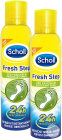 Scholl Duopack Fresh Step Déo Fraîcheur Spray 2 x 150ml