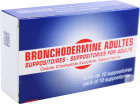 Serp Bronchodermine Adultes 10 Suppositoires