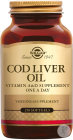 Solgar Cod Liver Oil 250 Softgels