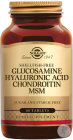 Solgar Glucosamine Hyaluronic Acid Chondroitin MSM 60 Comprimés