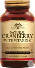 Solgar Natural Cranberry With Vitamin C 60 Gélules Végétales