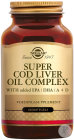 Solgar Super Cod Liver Oil Complexe 60 Softgels