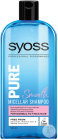 Syoss Pure Smooth Shampoing Micellaire Pour Cheveux Normaux À Épais Flacon 500ml