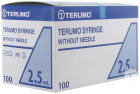 Terumo Seringue Luer Sliptip 2,5ml 100