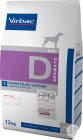 Virbac Veterinary HPM Chien D1 Dermatology Support 12kg