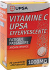 Vitamine C Upsa Effervescente 1000mg Fatigue Passagère Comprimés Effervescents 20