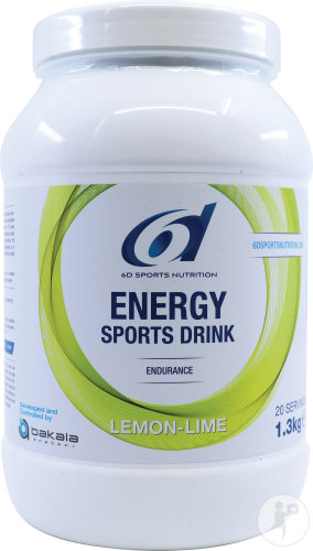 6d Energy Sports Drink Lemon Lime Pdr 1,3kg
