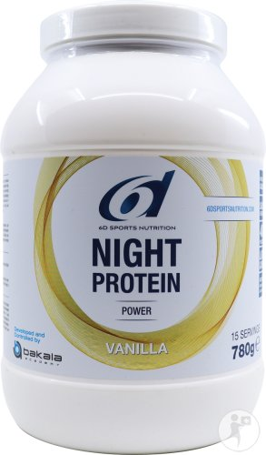 6d Sixd Night Protein Vanilla 780g