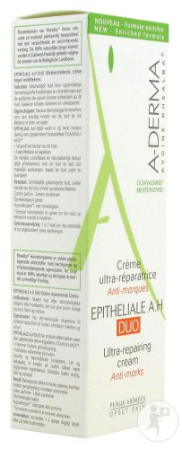 A-Derma Epitheliale A.H. Duo Crème Ultra-Réparatrice Anti-Marques Tube 100ml