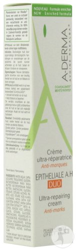 A-Derma Epitheliale A.H. Duo Crème Ultra-Réparatrice Anti-Marques Tube 40ml