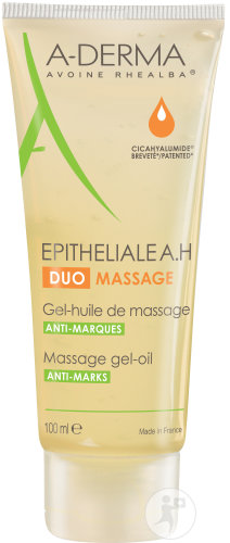 A-Derma Epitheliale A.H. Duo Gel-Huile De Massage Tube 100ml