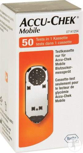 Accu-Chek Mobile Test Cassette 50 Tests (5953740171)