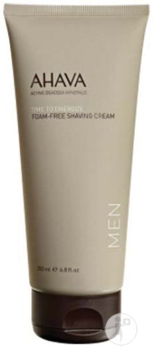 Ahava Men Time To Energize Crème A Raser Non Moussante Tube 200ml