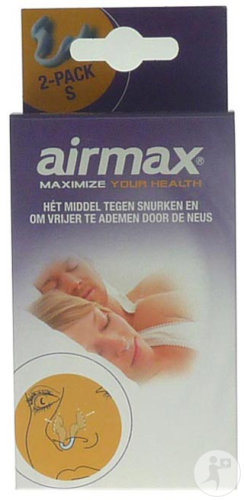 Airmax Classic Dilatateur Nasal Anti-Ronflement Small 2 Pièces
