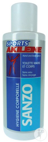 Akileïne Sports Sanzo Toilette Mains Et Corps Flacon 200ml