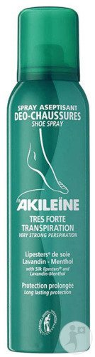 Akileïne Spray Aseptisant Deo-Chaussures 150ml