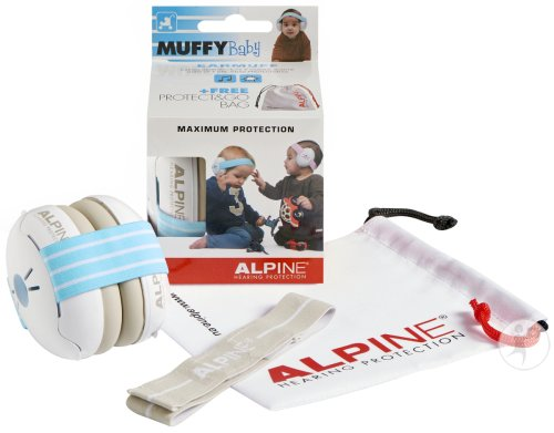 Alpine Muffy Casque Auditif Baby Bleu 1 Set