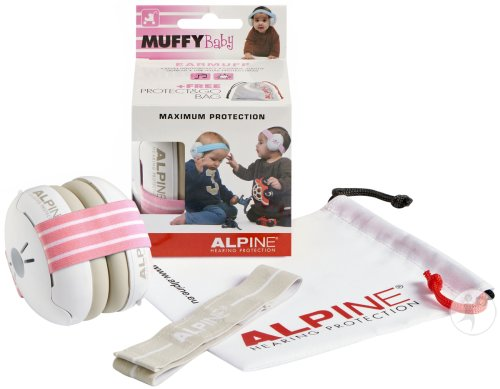 Alpine Muffy Casque Auditif Baby Rose 1 Set