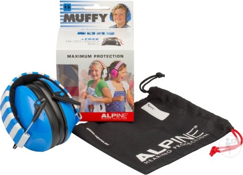 Alpine Muffy Casque Auditif Kids Bleu/blanc