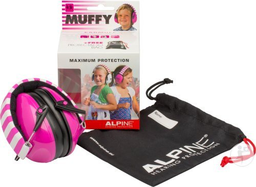 Alpine Muffy Casque Auditif Kids Rose/blanc