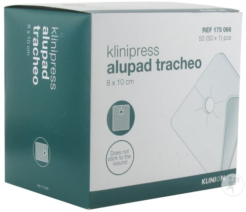 Alupad Tracheo Compresse Ster 8x10cm 50 4175066