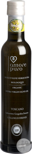 Amore Puro Huile D'Olive Extra Vierge Toscano Biologique 250ml