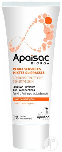 Apaisac Biorga Emulsion Purifiante Anti-Imperfections 40ml