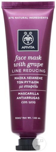 Apivita Masque Antirides Raffermissant Raisin Tube 50ml