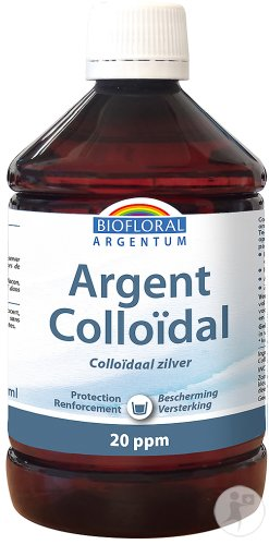 Argent Colloidal 20 Ppm Naturel 500ml