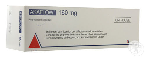 Asaflow Nycomed 56 Comprimés 160mg Ud