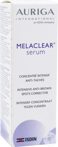 Auriga MelaClear Sérum Correcteur Anti-Tâches Flacon 15ml