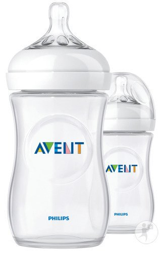 Avent Natural Biberon Duo 2x260ml