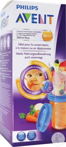 Philips Avent Via Pots de conservation - SCF639/05
