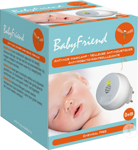 BabyFriend Veileuse anti-moustiques à ultrasons