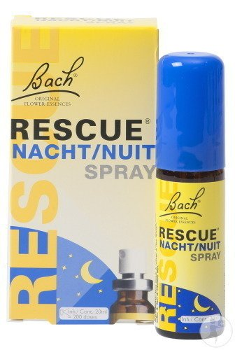 Bach Flower Rescue Nuit Spray 20ml