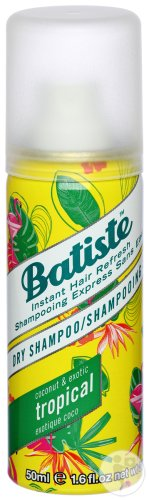 Batiste Shampoing Sec Tropical 50ml