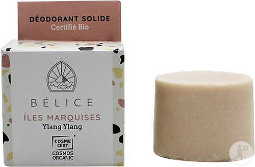 Bélice Îles Marquises Déodorant Solide Ylang Ylang Bio 38g