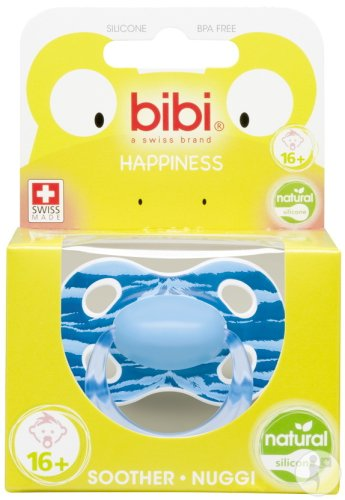 Bibi Sucette Happiness Natural Wild Baby +16 Mois 1 Pièce