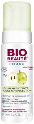 Bio Beauté by Nuxe Mousse Nettoyante Douce Anti-Pollution Visage 150ml