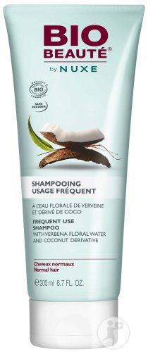 Bio Beauté By Nuxe Shampoing Usage Fréquent Tube 200ml
