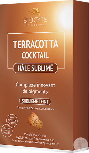 Biocyte Nutricosmetic Terracotta Cocktail Hâle Sublimé 30 Gélules