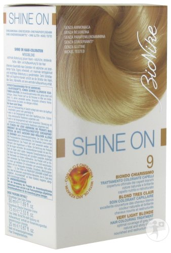 Bionike Shine On Soin Colorant Cheveux 9 Blond Très Clair 1 Kit