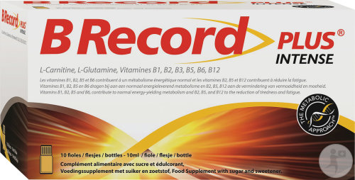 BioRecord Plus Flacons 10
