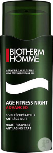 Biotherm Homme Age Fitness Night Advanced Soin Récupérateur Anti-Âge Nuit Flacon 50ml