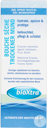 BioXtra Gel Spray Buccal Bouche Sèche 50ml