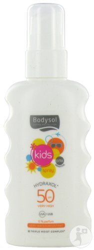 Bodysol Kids Spray Hydraxol Ip50+ Spray 175ml Nouvelle Formule