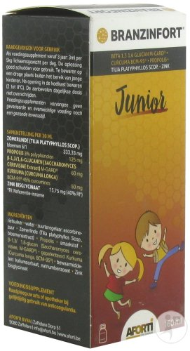 Branzinfort Junior Sirop 160ml