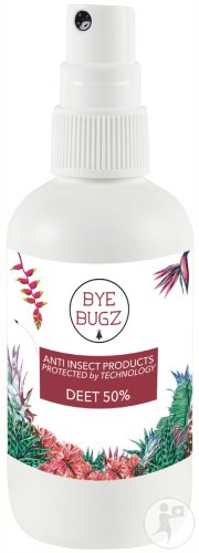 ByeBugz Anti Insect DEET 50% Spray 60ml